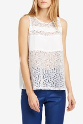 Paul Joe Women S Astucieux Daisy Embroidered Top Boutique1 White