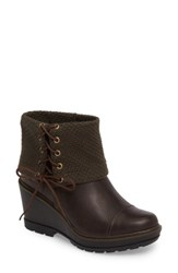 Timberland Women's Kellis Fold Down Water Resistant Boot Canteen Dusk Leather