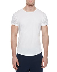 Orlebar Brown Tommy Solid Crewneck Tee White
