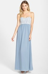 Women's Paper Crown By Lauren Conrad 'Breanna' Lace Bodice Crepe Gown