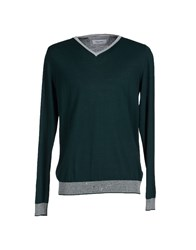 Mauro Grifoni Knitwear Jumpers Men Green