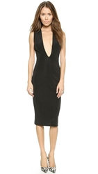 Aq Aq Viena Midi Dress Black