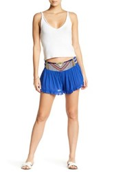 Rip Curl Embroidered Woven Short Blue