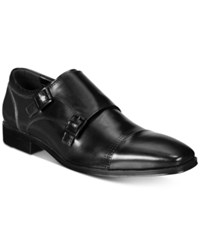 Unlisted Kenneth Cole Men's South Side Monk Strap Loafers Men's Shoes Black