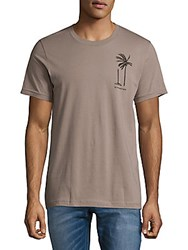 Ezekiel Short Sleeve Cotton Tee Brown