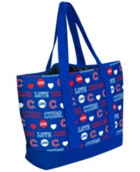 Forever Collectibles Chicago Cubs Tote Bag Blue