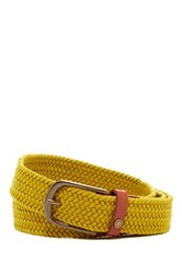 Ted Baker Braided Leather Belt Green