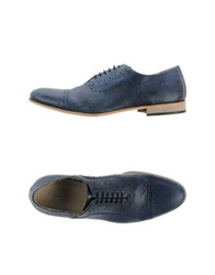 Enrico Fantini Lace Up Shoes Dark Blue