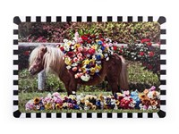 Seletti Toiletpaper Tablemat Pony Set Of 6 Various