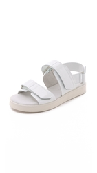 Won Hundred Zoila Sandals White
