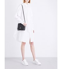Limi Feu Oversized Cotton Poplin Shirt Dress White