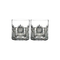 Waterford Essentially Dungarvan Dof Tumblers Set Of 2