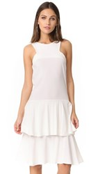 Mlm Label Aries Tier Dress Ivory