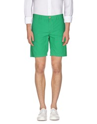 Napapijri Trousers Bermuda Shorts Men Green