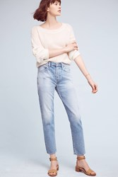 Anthropologie Citizens Of Humanity Liya Ultra High Rise Ankle Jeans Denim Light