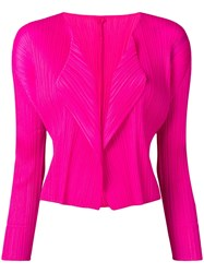 Issey Miyake Pleats Please By Pleated Jacket Pink
