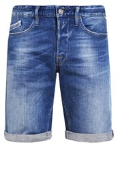 Replay Waitom Denim Shorts Blue Denim