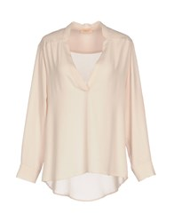 Maesta Blouses Light Pink