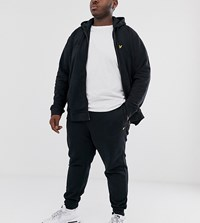 Lyle And Scott Co Ord Logo Jogger In Black