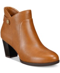 Giani Bernini Abalina Booties Only At Macy's Women's Shoes Chestnut