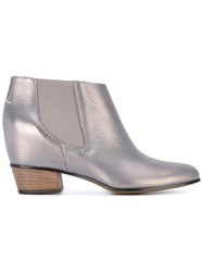 Golden Goose Deluxe Brand Classic Ankle Boot Women Leather 39 Grey