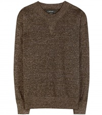 Isabel Marant Wal Metallic Sweater Gold