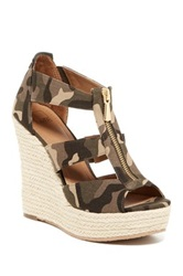 14Th And Union Thea Espadrille Wedge Sandal Green