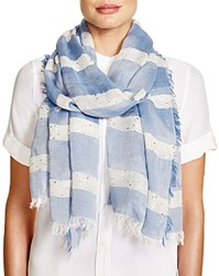 Altea Lurex Sequin Scarf Blue