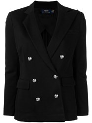 Polo Ralph Lauren Double Breasted Blazer Black