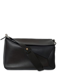 Loewe Puzzle Xl Soft Natural Leather Bag Carbon