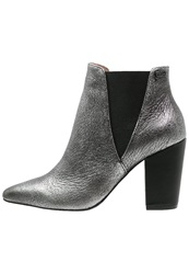 Gaudi Delice Ankle Boots Silver