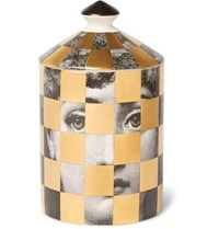Fornasetti Scacco Scented Candle 300G Colorless