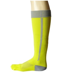 Toesox Sport Compression Knee High Daylight 4Am Women's Knee High Socks Shoes Yellow