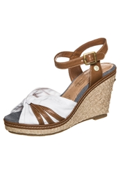 Tom Tailor High Heeled Sandals White