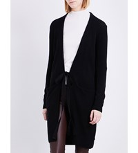 Joseph Self Tie Knitted Cashmere Cardigan 010Black