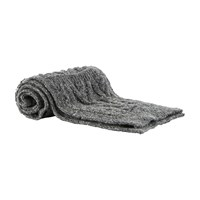 Thom Browne Aran Cable Knit Scarf Med Grey