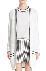 St. John Women's Collection Twill Knit Cardigan