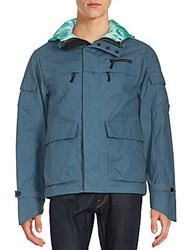 Black Sail Convertible 3 In 1 Deck Jacket Moroccan Blue