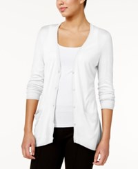 G.H. Bass And Co. Pocketed Cardigan White