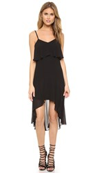 Ali And Jay High Low Hem Gown Black