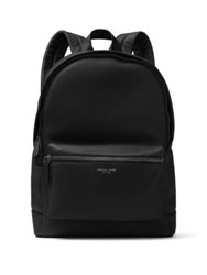 Michael Kors Bryant Pebble Textured Leather Backpack Black