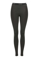 Topshop Elastic Leggings Charcoal