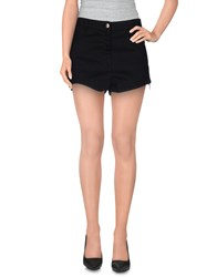 Cnc Costume National C'n'c' Costume National Denim Denim Shorts Women Black