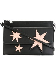 Sonia By Sonia Rykiel Star Patch Clutch Black