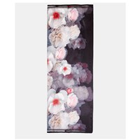 Ted Baker Chleo Long Silk Scarf Black