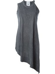 Lost And Found Rooms Oversized Asymmetric Tank Top Grey