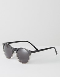 Pieces Miksi Ombre Sunglasses Black