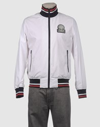 Franklin And Marshall Coats And Jackets Jackets Men White