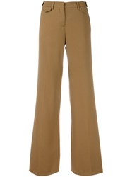 N 21 No21 Welt Pocket Palazzo Pants Nude Neutrals