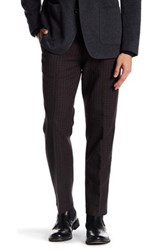 Bonobos Foundation Blue Checkered Regular Fit Double Pleated Cotton Trouser 30 34 Inseam Multi